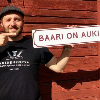 Museon baari on auki | The museum bar is open | Museumbaren är öppen | Музейный бар открыт